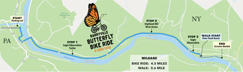 Bike Ride Map milage