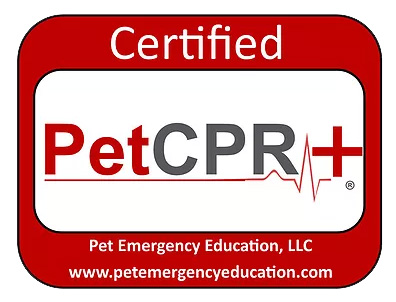 Certified pet cpr