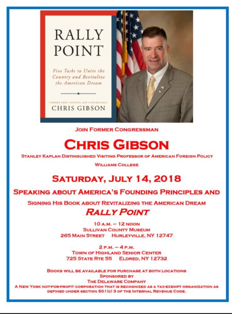 Chris Gibson Book Signing