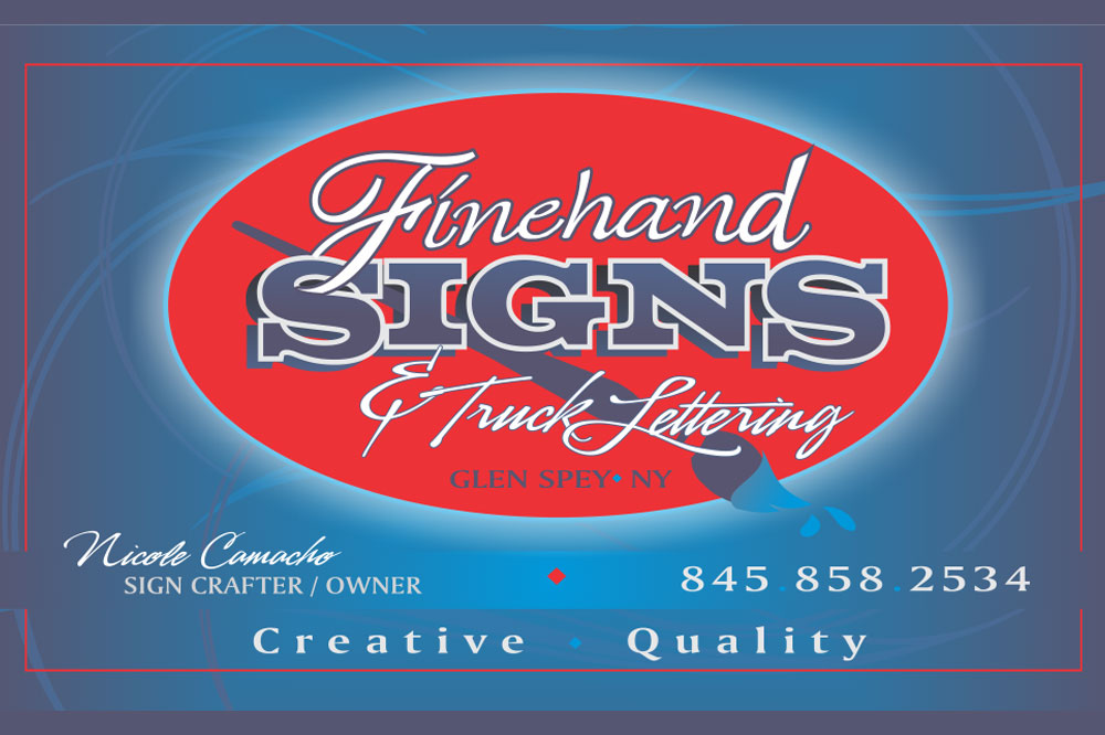 Finehand Signs