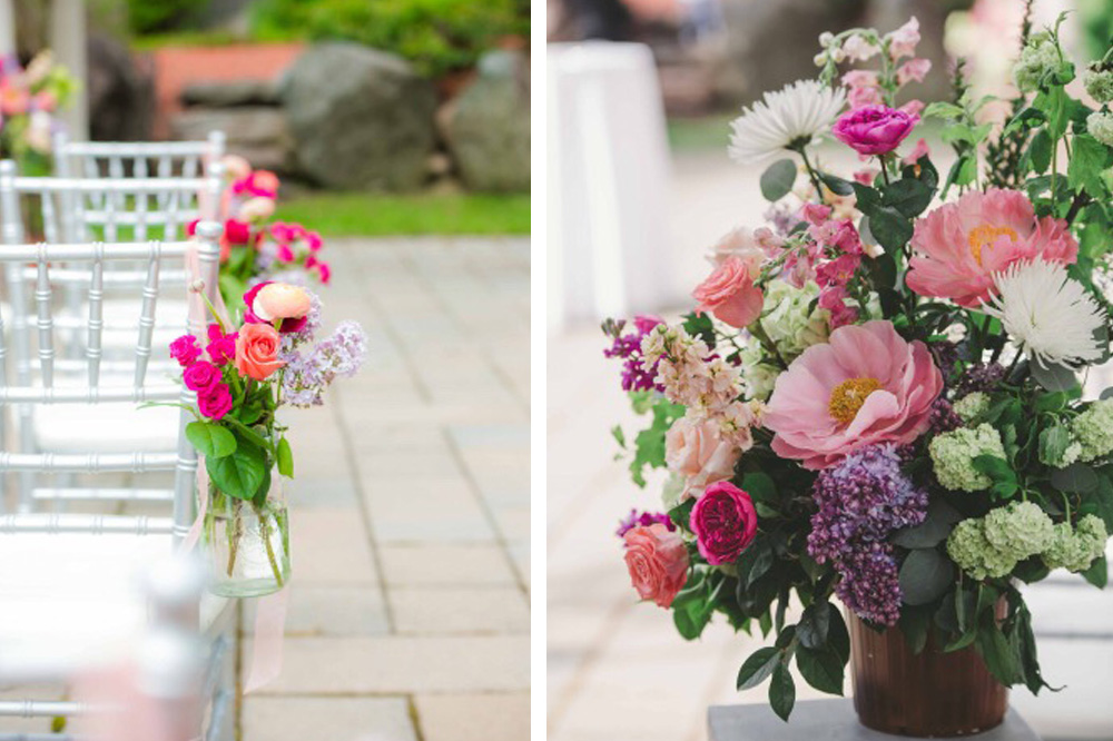 Floral cottage bouquets