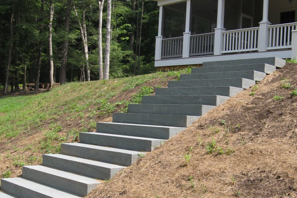 Jason Van Tuyl Tree Service stairs