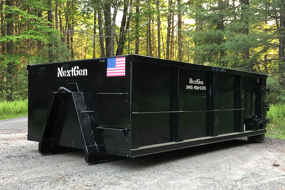 11 yard container