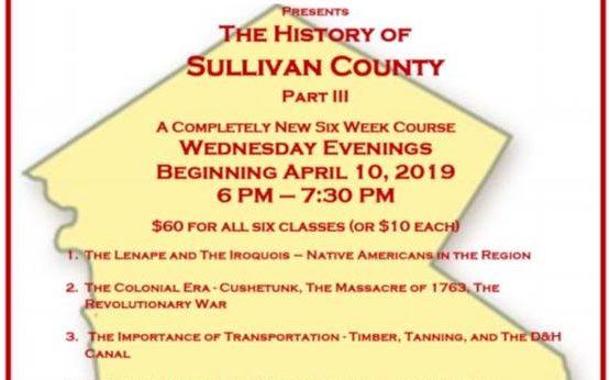 Sullivan County History Class 2019