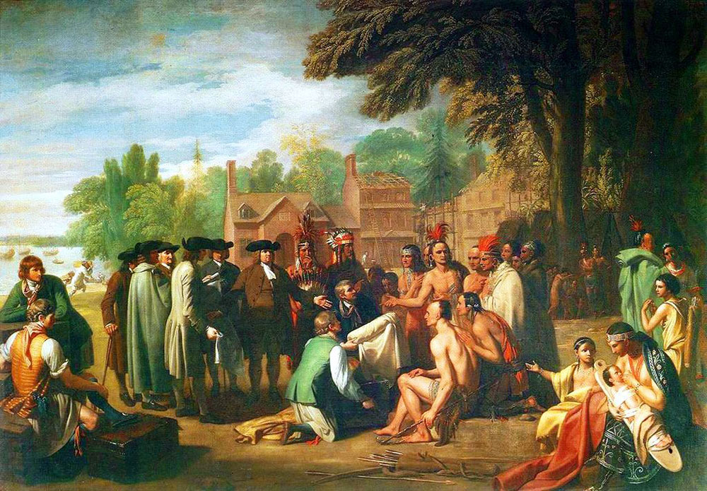 William Penn's 1682 treaty with the Lenape