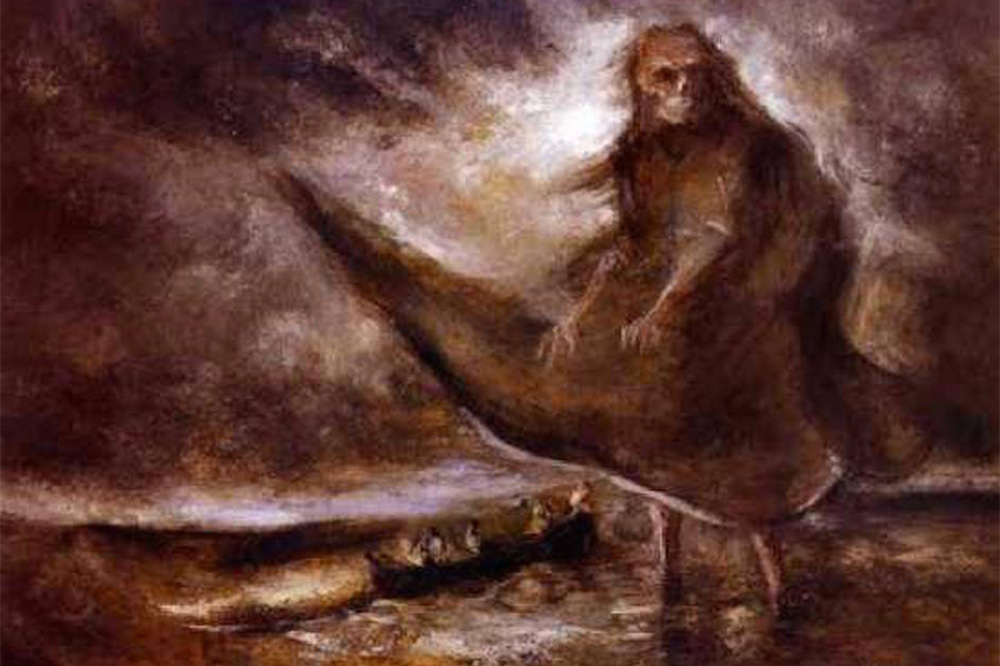 Water Ghost by Alfred Kubin 1905